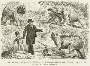 Visit To The Antediluvian Reptiles