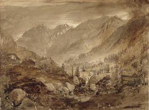 Mountain Landscape, Macugnaga