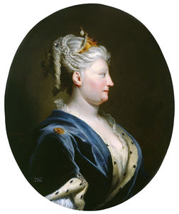Portrait Of Queen Caroline Of Ansbach