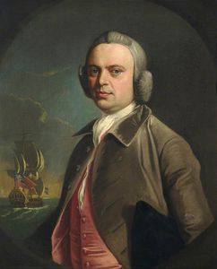 Rear Admiral Charles Fanshawe