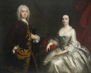 Sir Willoughby Aston And His Wife