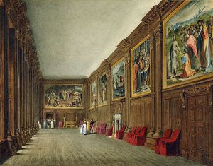 Hampton Court Palace, Cartoon Gallery