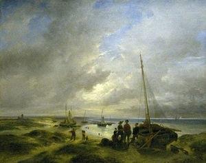 Beach At Katwijk