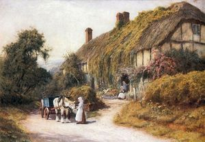 A Cottage At Ashton Under Hill, Gloustershire