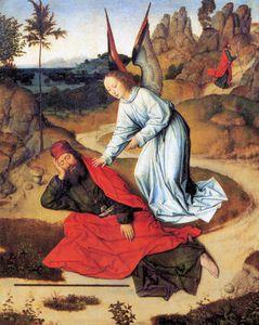 Prophet Elijah In The Desert
