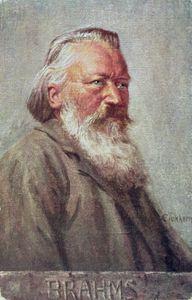 ヨハネス·ブラームスの肖像