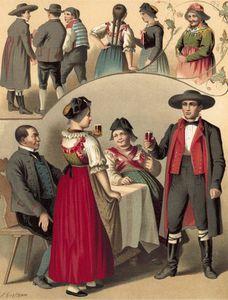 German Costume Baden Schapbach