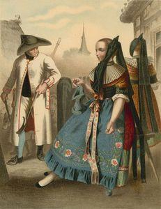 German Costume Braunschweig
