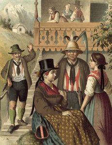 German Costume Oesterreich Pinzgau