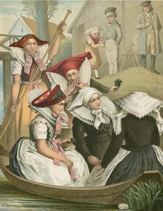 German Costume Preussen Spreewald -