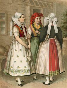 German Costume Preussen Spreewald