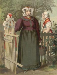 German Costume Preussen Tannhausen
