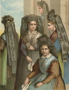 German Costume Thuringen -