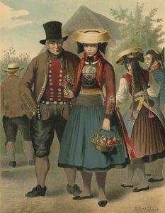 German Costume Vierlande