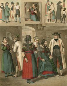 German Costume Westphalen