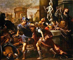 The Burning Of Troy