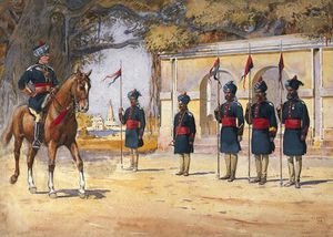 Soldiers Of The 10th Duke Of Cambridge's Own