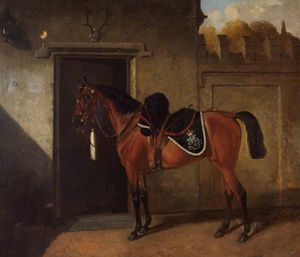 'may Queen', Bath Troop, North Somerset Yeomanry Cavalry