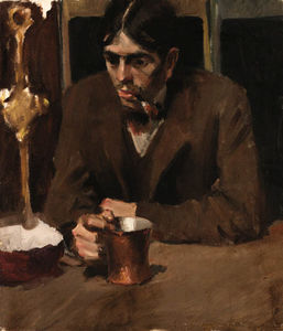 The Brooding Drinker