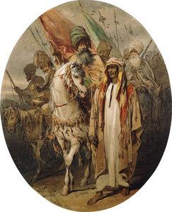 Arab Warriors Advancing