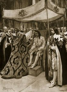 The Anointing Of Charles I