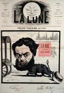 Caricature Of Jules Valles