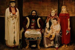 A Merchant And His Family In The Seventeenth