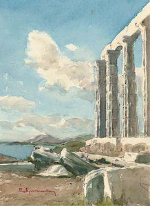 The Temple Of Poseidon, Cape Sunion, Attica