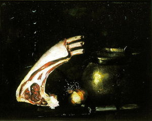 Still Life With Cutlets