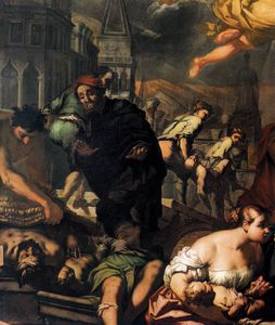 The Virgin Appears To The Plague Victims
