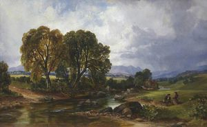 A Highland Stream
