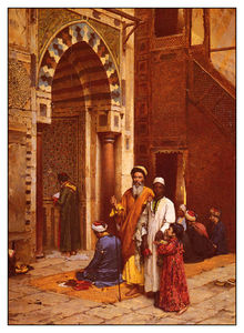 Blind Man At The Mosque