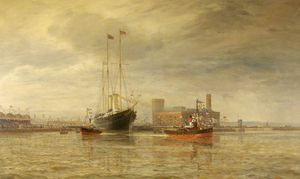 Opening Of The Royal Edward Dock