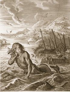 Glaucus Turned Into A Sea-god,
