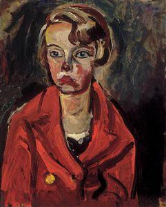 Child In Red Coat