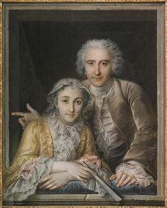 A Picture Of Philippe Coypel With His Wife