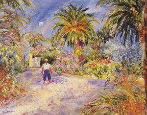 Jardin De La Villa De Georges Grammont À Saint-tropez