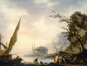 A Southern Coastal Scene