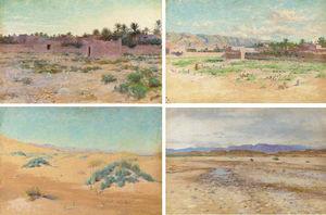 Travellers In The Desert