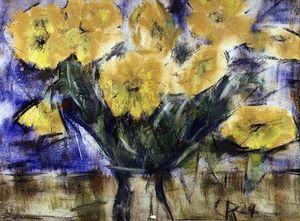 黄色 花儿