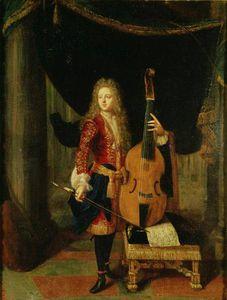 Portrait Of Johann Schenck )