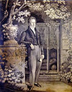 Portrait Of Richard Sainthill