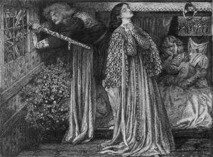 Sir Launcelot In The Queen S Chamber