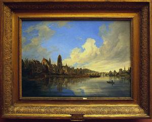 Painting Of Domenico Quaglio In The Städel Museum