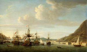 Gibraltar Relieved By Sir George Rodney