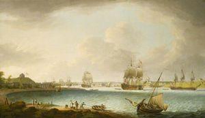 Men-of-war At Plymouth