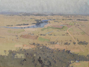 Study For Nepean River Landscape