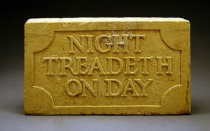 Night Treadeth On Day