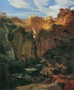 Tivoli, Les Cascades Et Le Temple De Vesta