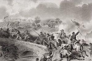 The Taking Of The Bridge On Antietam Creek